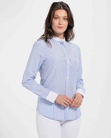 5cbf429519a Dámska košeľa 18S SHW4014 BABY BLUE