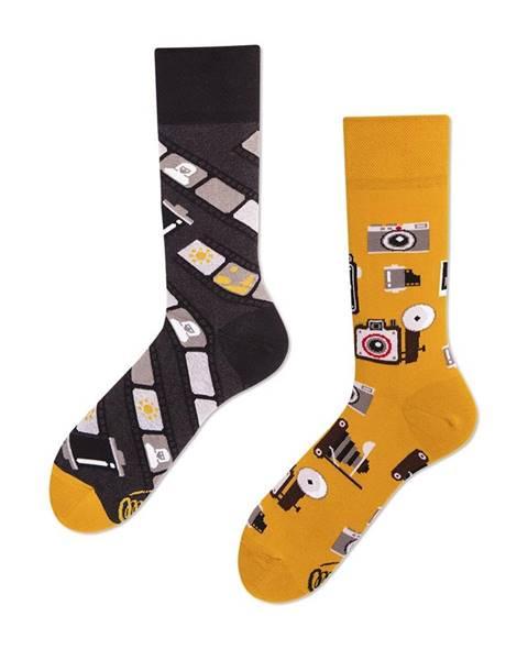 Ponožky Retro kamera od Many Mornings