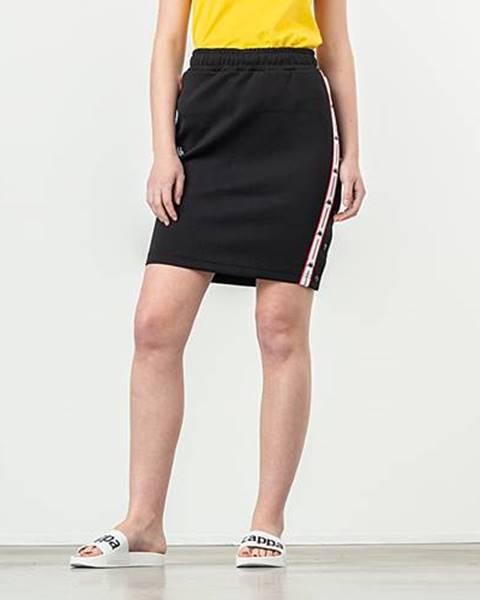 Čierna sukňa Kappa