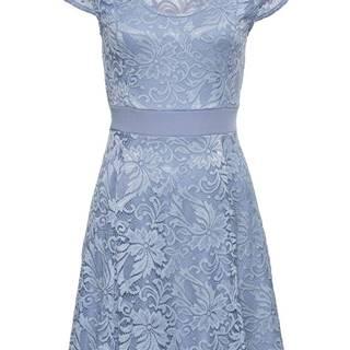 Džersejové šaty s čipkou