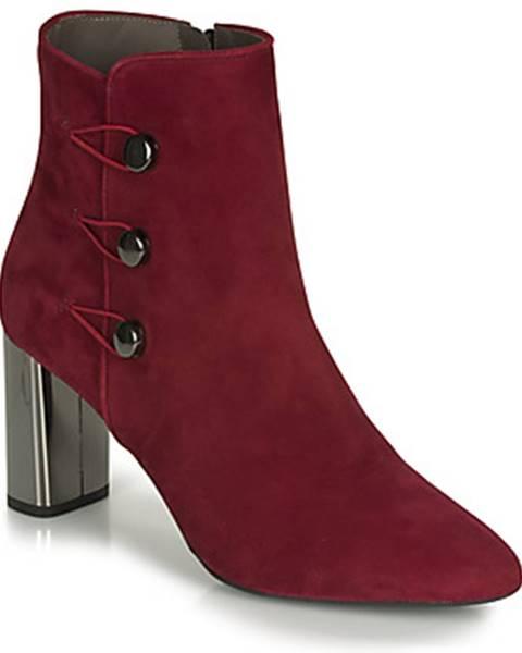 Červené topánky Perlato