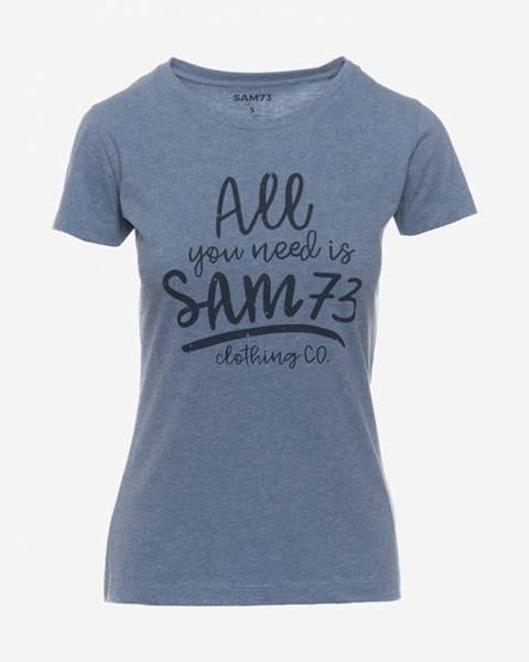 Modré tričko SAM 73