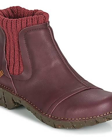 Červené topánky El Naturalista