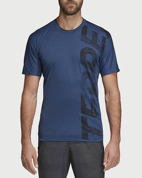Modré tričko adidas Performance