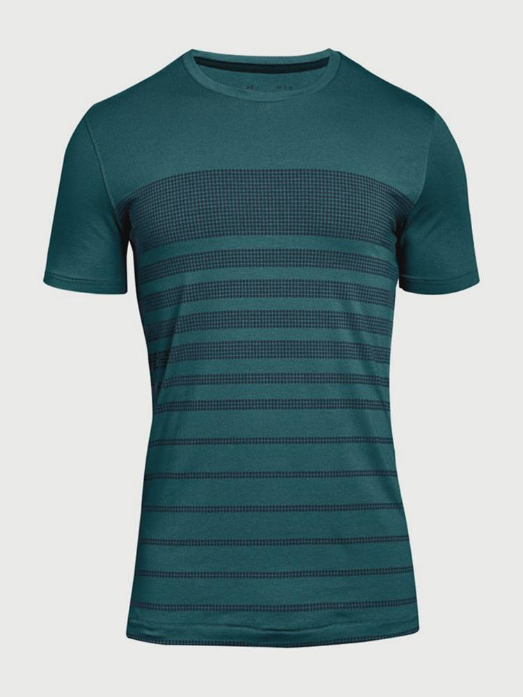 Under Armour Tričko Under Armour Sportstyle Stripe Tee Zelená