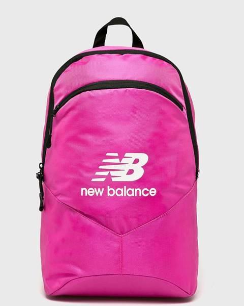 Ružový batoh New Balance