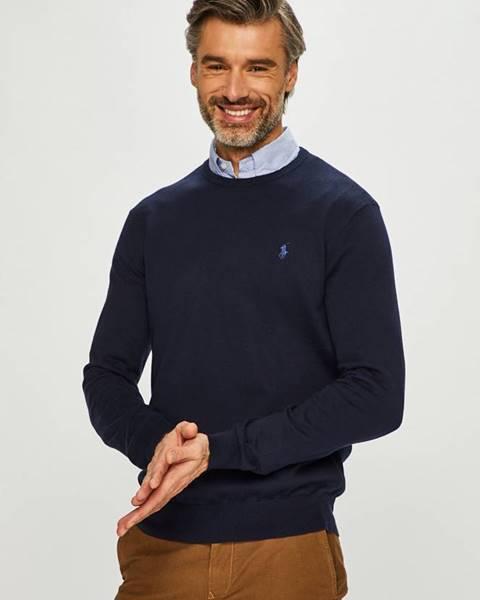 Tmavomodrý sveter Polo Ralph Lauren