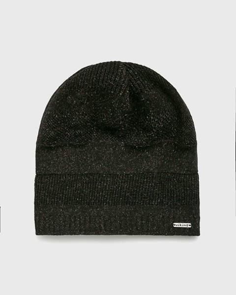 Hnedá čiapka Viking