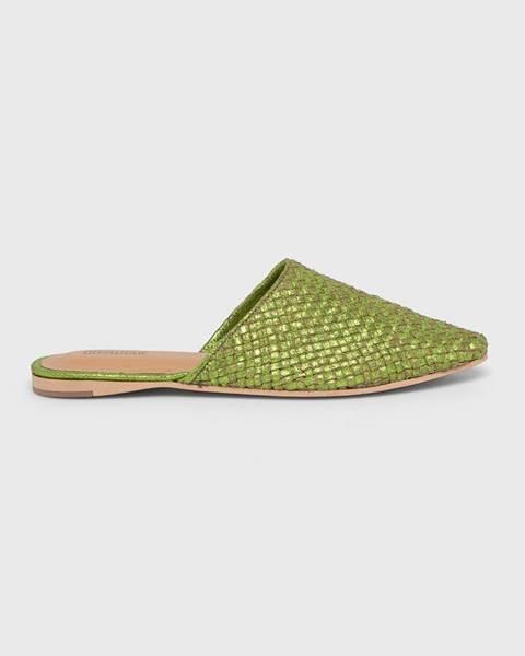 Zelené sandále Answear