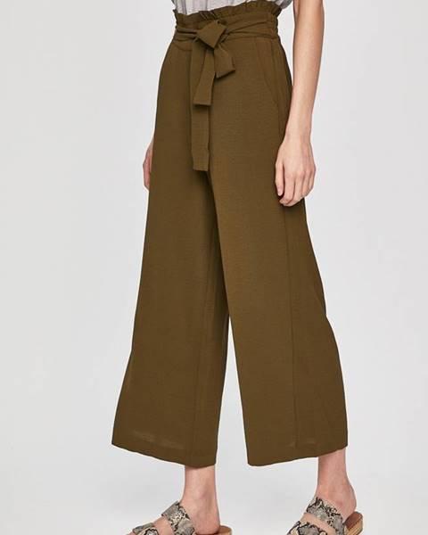 Zelené nohavice Vila