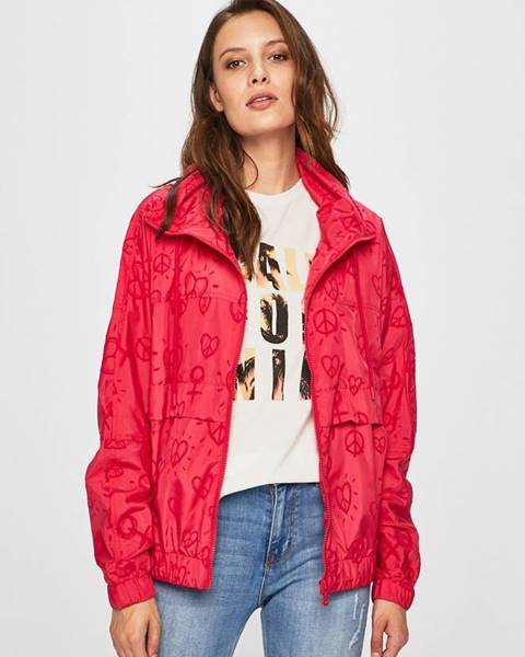Ružová bunda Desigual