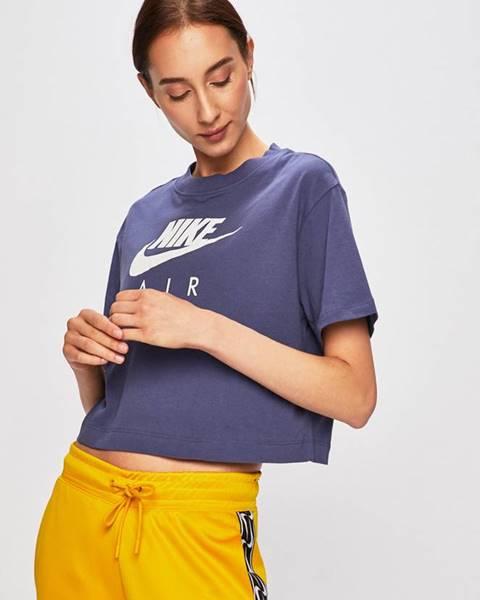 Fialové tričko Nike Sportswear