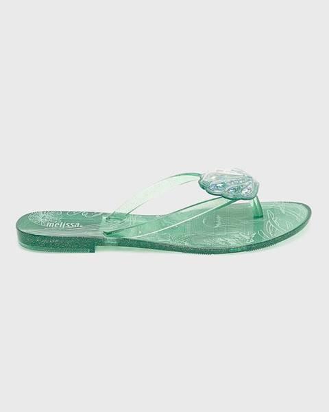 Tyrkysové sandále Melissa
