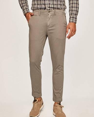Sivé nohavice Calvin Klein Jeans