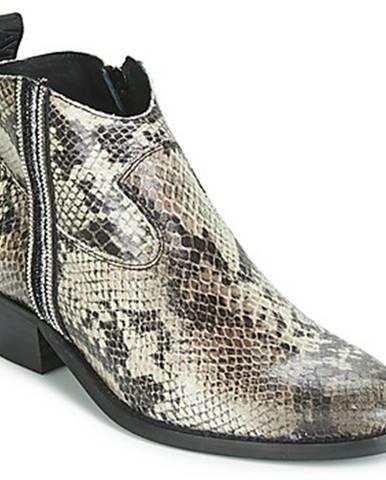 Béžové topánky Replay