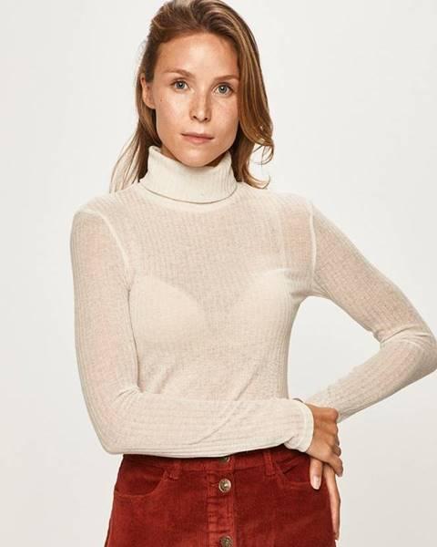 Béžový sveter Pieces