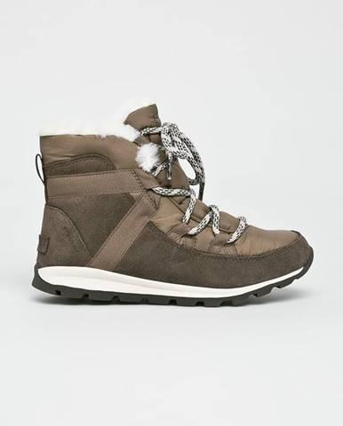 Sivé zimná obuv Sorel