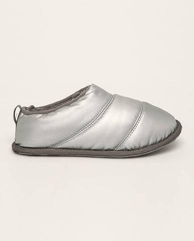 Strieborné papuče Sorel