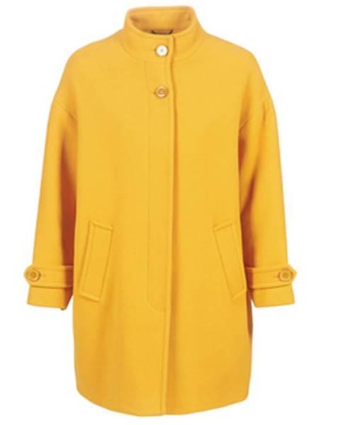 Žltý kabát Benetton