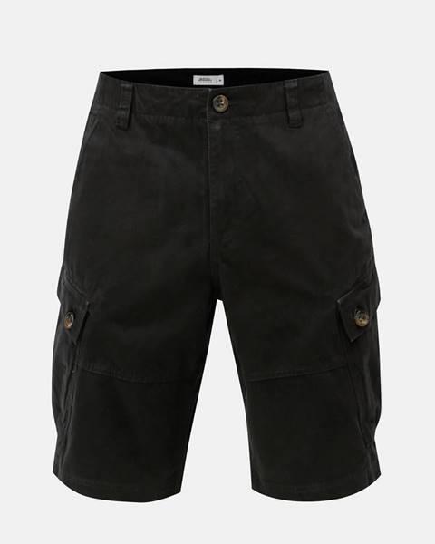 Čierne kraťasy Burton Menswear London