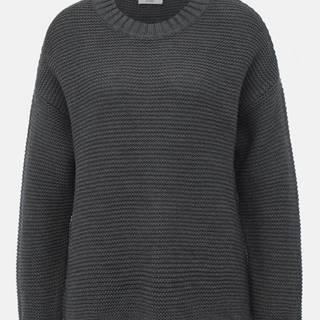 Tmavošedý sveter Jacqueline de Yong Meadow