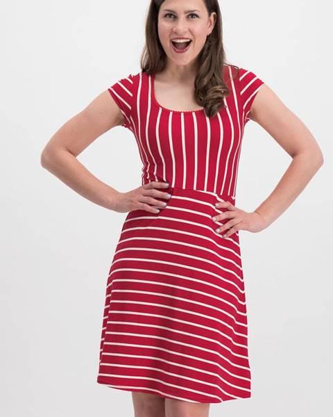 Červené šaty Blutsgeschwister