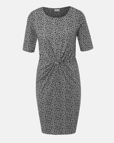 Sivé šaty Vila