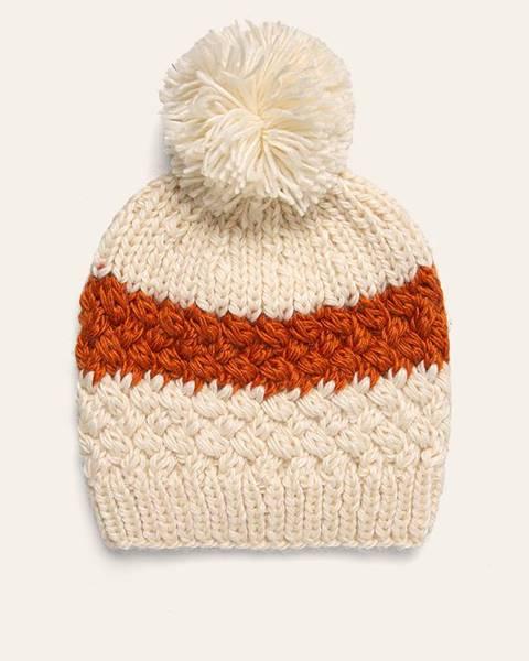 Béžová čiapka Answear