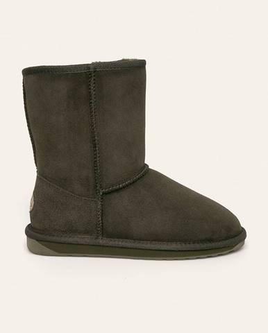 Zelené zimná obuv Emu Australia