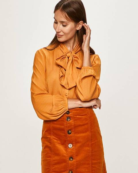 Oranžová košeľa Vila