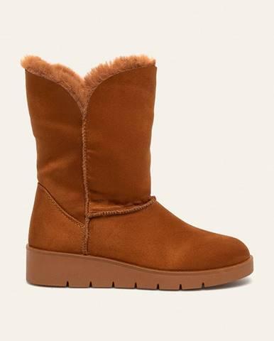 Hnedé zimná obuv Answear