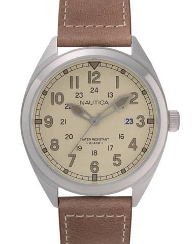 Hnedé hodinky Nautica
