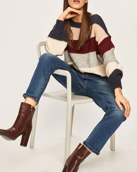Tmavomodrý sveter Answear