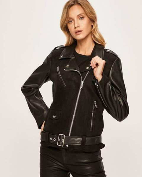 Čierna bunda DKNY