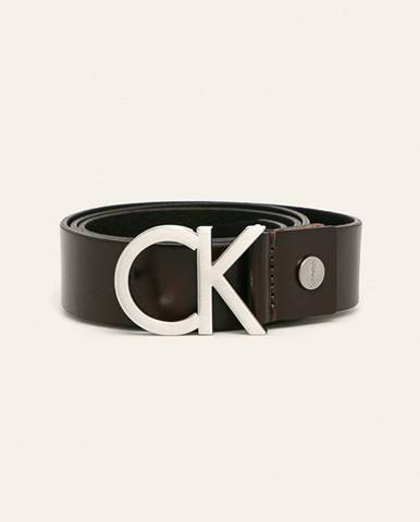 Hnedý opasok Calvin Klein Jeans