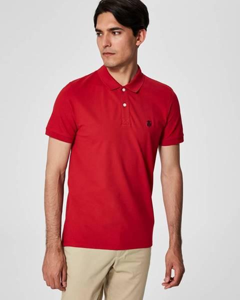Červená košeľa Selected Homme