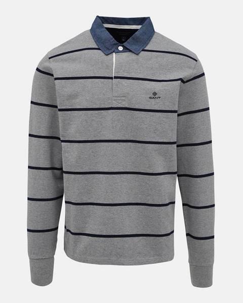 Sivá košeľa Gant