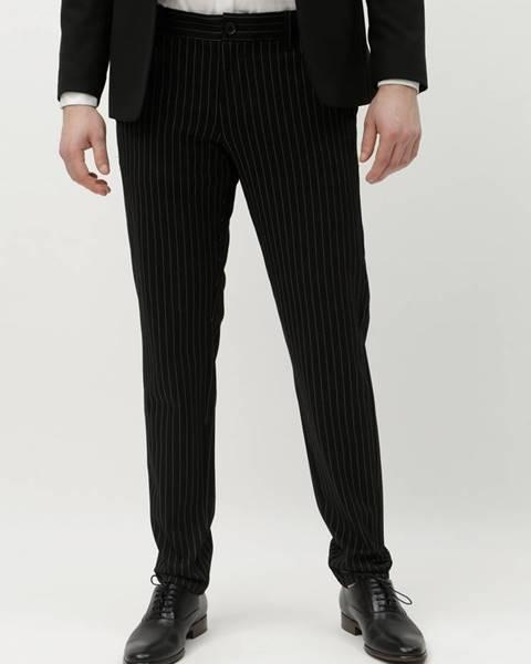 ONLY & SONS Čierne pruhované nohavice ONLY & SONS Mark