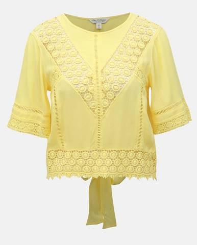 Žlté tričko Miss Selfridge