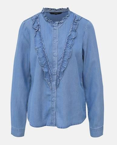 Modrá blúzka Vero Moda