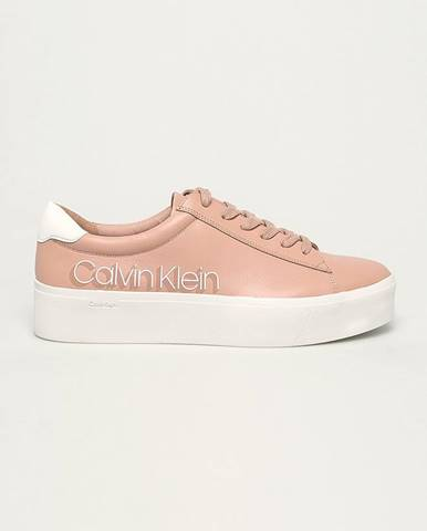 Ružové topánky Calvin Klein