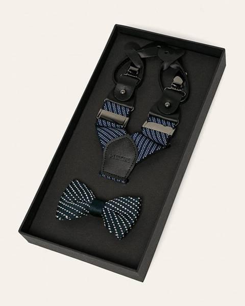 Tmavomodrá kravata MEDICINE
