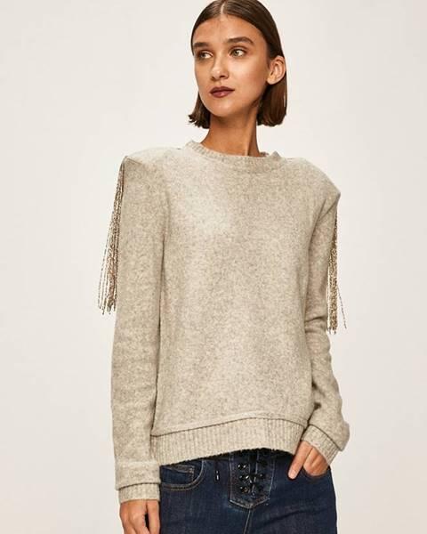 Sivý sveter Patrizia Pepe