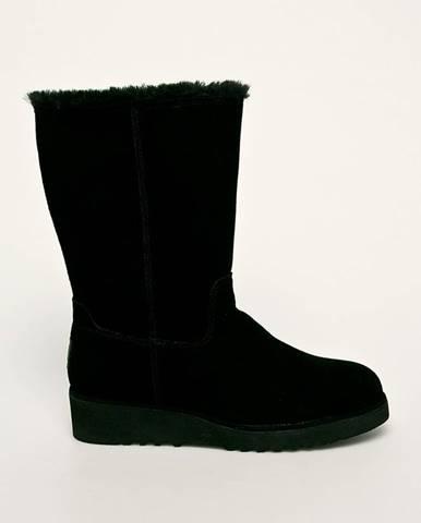 Čierne zimná obuv Gioseppo