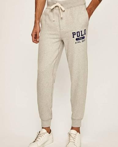 Sivé nohavice Polo Ralph Lauren