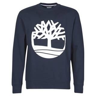 Mikiny Timberland  CORE LOGO TREE CREW SWEAT (LOOPBACK)