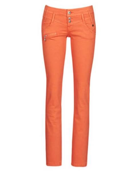 Oranžové nohavice Freeman T.Porter