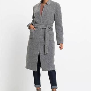 bonprix Kabát s opaskom, vystužený