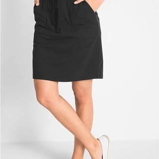 Strečová sukňa so šnúrkou