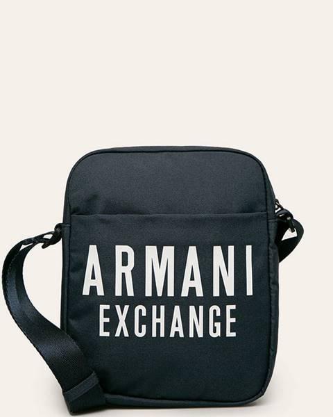 Tmavomodrá taška Armani Exchange